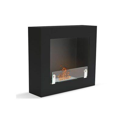 Brescia firkantet vægpejs sort
