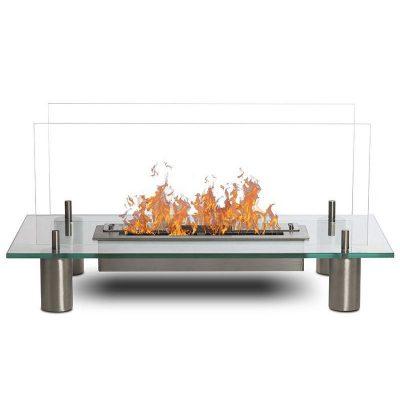 Glass dejlig gulv biopejs