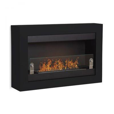 Vigo en brandkar vægpejs sort