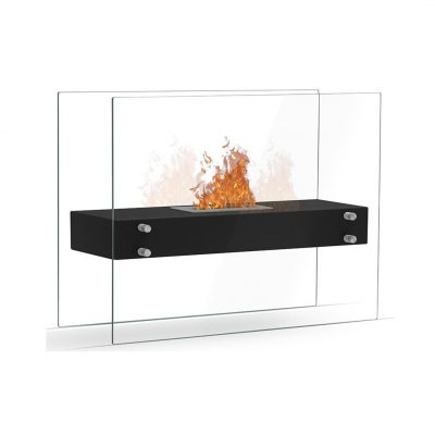 Zaphir biopejs med glas sort